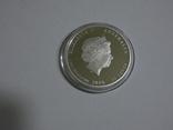 Морская жизнь Австралии - Мурена - серебро, 50 центов, фото №6