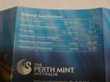 Морская жизнь Австралии - Мурена - серебро, 50 центов, фото №8