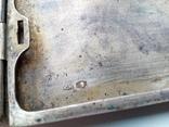 Портсигар срібло,kim Польща 1920-ті.102+грам., фото №6