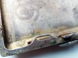 Портсигар срібло,kim Польща 1920-ті.102+грам., фото №7