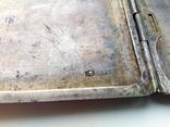 Портсигар срібло,kim Польща 1920-ті.102+грам., фото №10