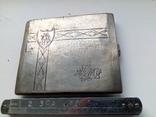 Портсигар срібло,kim Польща 1920-ті.102+грам., фото №13
