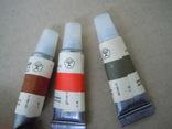 6 новых тюбиков краски ГОСТ 1975 года, фото №5