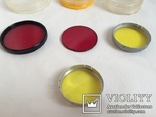 Цветные светофильтры и коробочки от них, фото №5
