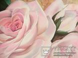 Картина маслом 40х60 Розы, фото №4