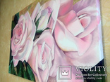 Картина маслом 40х60 Розы, фото №7