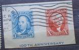 США вырезка из блока, фото №2