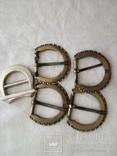 Пряжки  ( 5 шт . )  металлические, фото №2