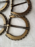 Пряжки  ( 5 шт . )  металлические, фото №3