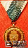 Австрия, Пожарная медаль за 50 лет выслуги, фото №2