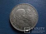 2 кроны 1923  Дания серебро   (N.1.10)~, фото №2