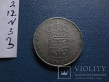 1 крона 1955  Швеция  серебро  (N.3.3)~, фото №4