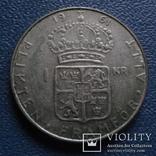 1 крона 1961  Швеция  серебро  (N.2.10)~, фото №2