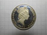 2 доллара 1996 год острова Кука, фото №2