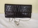 Вечерняя лаковая сумочка клатч. Новая, фото №2