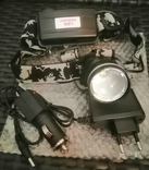 Фонарик электрический аккумуляторный налобный для рыбалки,охоты,отдыха, фото №3