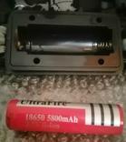 Фонарик электрический аккумуляторный налобный для рыбалки,охоты,отдыха, фото №6