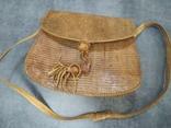 Сумка змеиная кожа питон, фото №2
