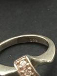 Колечко серебряное, фото №6