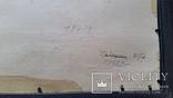 Л.Харламов Байкальски 25.7.1969, 34,4х48,8 см, фото №8