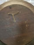 Деревянная тарелка большая, фото №11