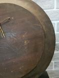 Деревянная тарелка большая, фото №12
