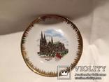 Декоративная сувенирная тарелка Кёльн, фото №2
