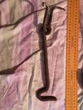 Металическая скоба и гачок дверь замок, фото №8