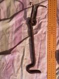 Металическая скоба и гачок дверь замок, фото №9