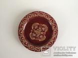 Деревянная декоративная тарелочка, фото №3