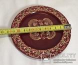 Деревянная декоративная тарелочка, фото №2