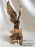 Два орла. деревянная фигура, фото №3