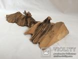 Два орла. деревянная фигура, фото №5