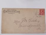 Марка на конверте, фото №3
