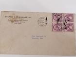 Марки США на конверте, фото №3