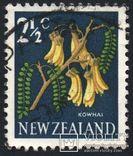 1967 - Новая Зеландия - Стандарт - Флора 2 1/2 Mi.459, фото №2