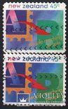 1994 - Новая Зеландия - Стандарт - Mi.1365 I - II, фото №2