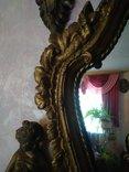 Винтажное зеркало с элементами декора, фото №10