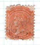 Брит.колонии. Южная Австралия, 1876 год., фото №2