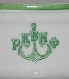 Овальный cалатник-супник РКВМФ без ручек ( зеленый )., фото №4