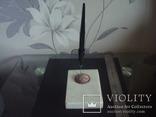 """Набор,чернильная авторучка на мраморной подставке """"Ракета"""", фото №2"""