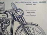 """Постер """"Model motorcycles Norton Manx"""", фото №6"""