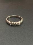 Кольцо серебряное, фото №2