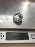 Кольцо серебряное, фото №8
