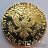 10 долларов 1984 г. США (Олимпиада ХХIII), фото №2