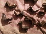 Угловые зажимы мебельные фурнитура СССР шкаф уголки, фото №7