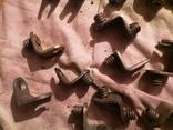 Угловые зажимы мебельные фурнитура СССР шкаф уголки, фото №8