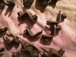 Угловые зажимы мебельные фурнитура СССР шкаф уголки, фото №9