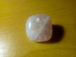 Природний камінь, мінерал 21,12 г. Рожевий кварц, фото №2