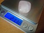 Природний камінь, мінерал 21,12 г. Рожевий кварц, фото №3